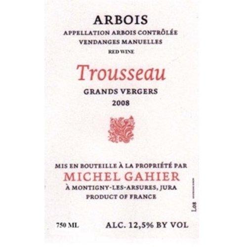 Wine MICHEL GAHIER TROUSSEAU ARBOIS ROUGE 'LES GRANDS VERGERS' 2016