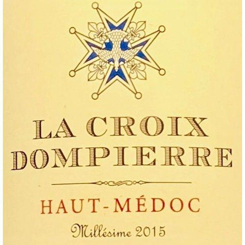 Wine LA CROIX DOMPIERRE HAUT-MEDOC 2015