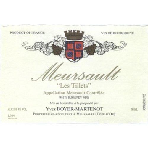 Wine YVES BOYER-MARTENOT MEURSAULT 'LES TILLETS' 2016