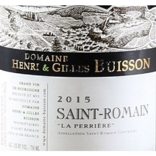 Wine BUISSON SAINT ROMAIN LA PERRIERE 2015