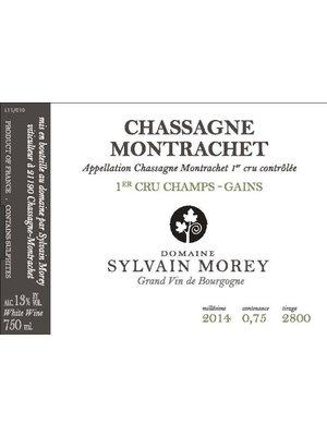 Wine SYLVAIN MOREY CHASSAGNE MONTRACHET 1ER CRU LES CHAMPS GAINS  2014