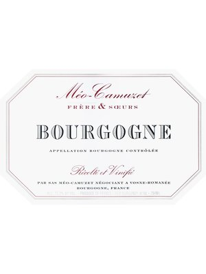 Wine MEO CAMUZET BOURGOGNE ROUGE 2016