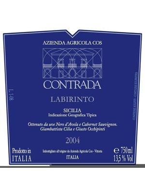 Wine AZIENDA AGRICOLA COS NERO D'AVOLA CONTRADA 'LABIRINTO' 2002