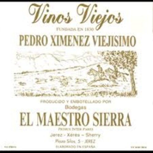 Specialty EL MAESTRO SIERRA PEDRO XIMENEZ 'VIEJISIMO' VORS SHERRY 375ML