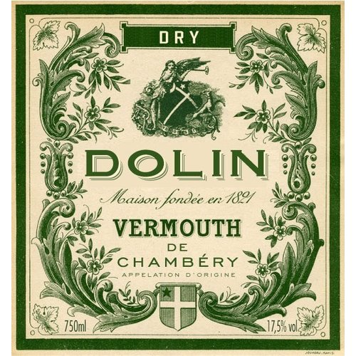 Fortified Wine DOLIN VERMOUTH DE CHAMBERY DRY