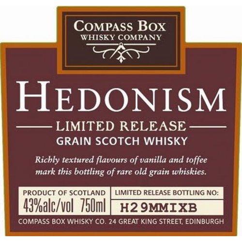 Spirits COMPASS BOX: HEDONISM SCOTCH
