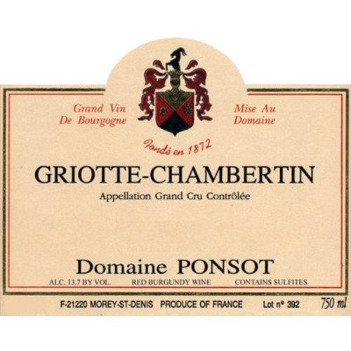 Wine PONSOT GRIOTTE CHAMBERTIN GRAND CRU 2006 1.5L