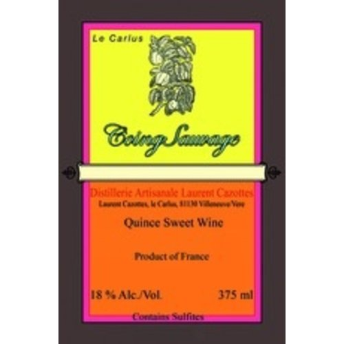 Spirits LAURENT CAZOTTES WILD QUINCE SWEET WINE