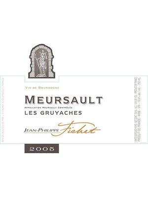 Wine JEAN-PHILIPPE FICHET MEURSAULT 'GRUYACHES' 2011