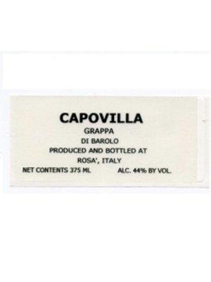 Spirits CAPOVILLA GRAPPA DI BAROLO 375ML