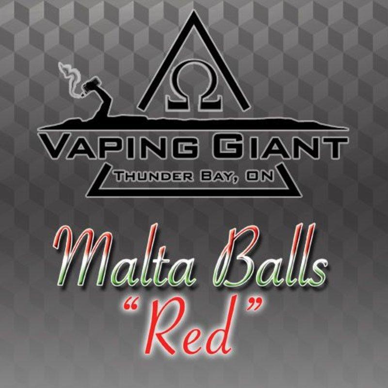 Vaping Giant Vaping Giant - Malta Balls: Red (60ml)