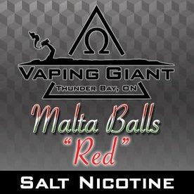 Vaping Giant Vaping Giant - Malta Balls: Red [Salt Nicotine] (30ml)