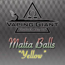 Vaping Giant Vaping Giant - Malta Balls: Yellow (60ml)