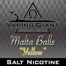 Vaping Giant Vaping Giant - Malta Balls: Yellow [Salt Nicotine] (60ml)