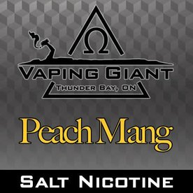 Vaping Giant Vaping Giant - Peach Mang [Salt Nicotine] (30ml)