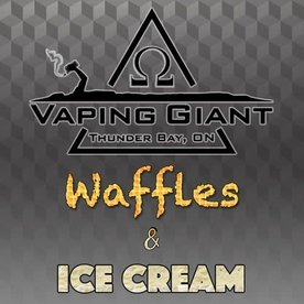 Vaping Giant Vaping Giant - Waffles & Ice Cream (60ml)