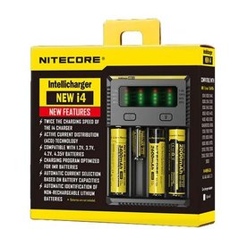 Nitecore Nitecore – NEW i4 Intellicharger