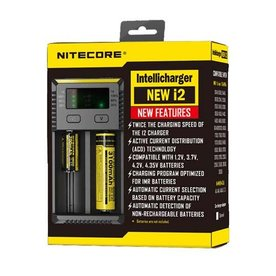 Nitecore Nitecore – NEW i2 Intellicharger
