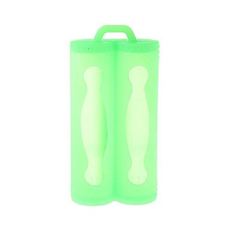 Dual 18650 Silicone Protective Sleeve
