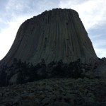 Base of Devil's Tower