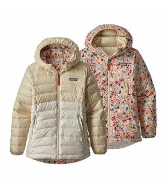 Patagonia Girls' Reversible Down Sweater Hoody