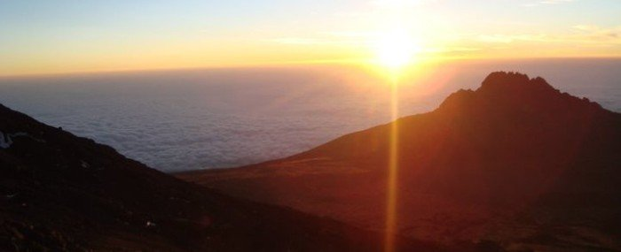 Climbing Mt. Kilimanjaro And Waking Up in the Clouds