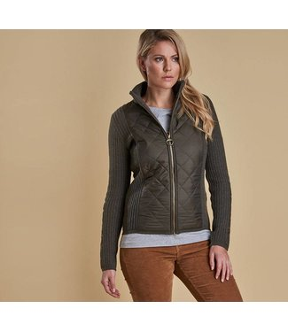 Barbour W's Sporting Zipped Top