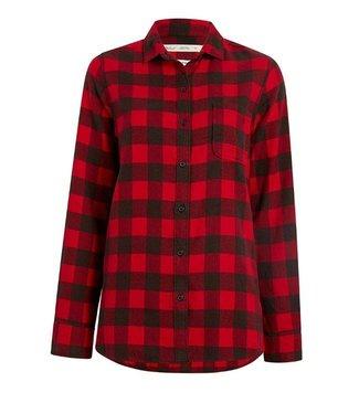 Woolrich W's Pemberton Boyfriend Tunic Flannel Shirt