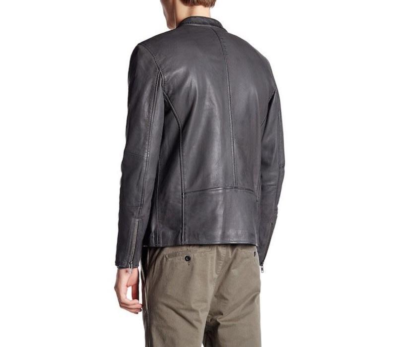 Leather biker jacket Style: 30-10022