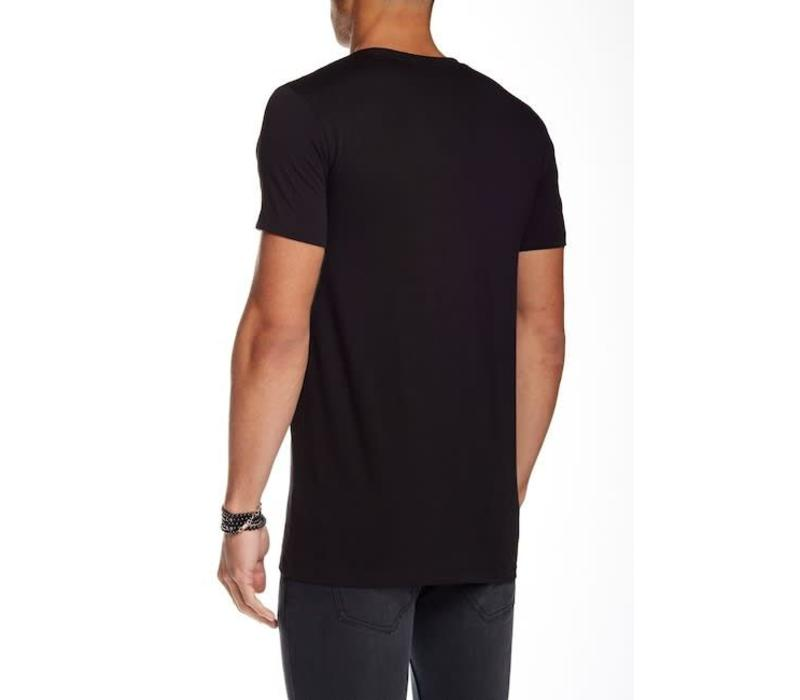 Men's stretch v-neck tee