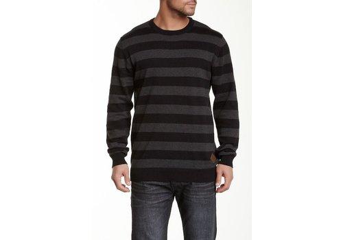 Shine-Original Striped o-neck knit Style: 2-80082