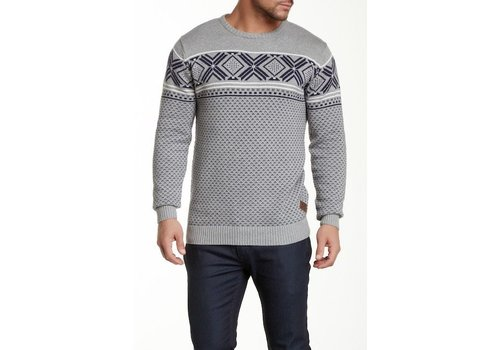 Shine-Original Jacquard O-neck knit Style: 2-80088