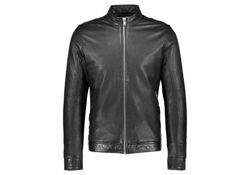 Lindbergh Short Lamb Leather Jacket 30-10067 Size XXL