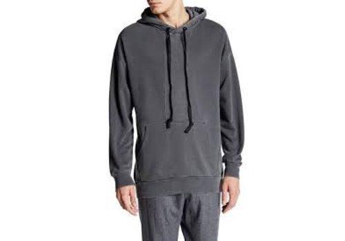 Junk de Luxe Contrast panel hooded sweat Style: 60-70502