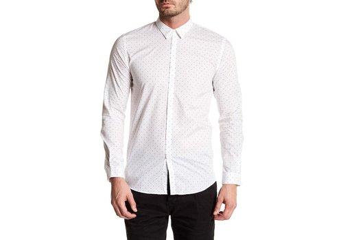 Junk de Luxe Printed dot L/S dress shirt Style: 60-20224