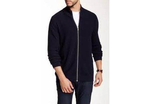 Lindbergh Knit cardigan w. zipper Style: 30-83195