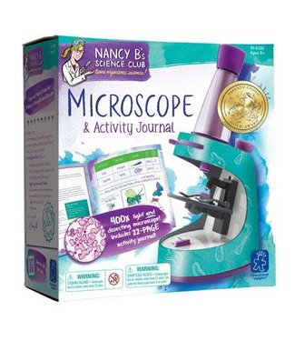 Educational Insights Nancy B's Science Club Microscope & Activity Journal