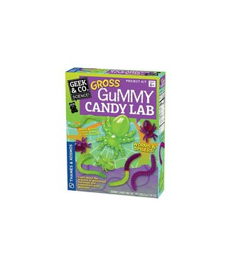 Geek & Co. Science Gross Gummy Candy Lab: Worms and Spiders
