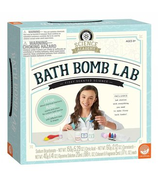 Mindware Science Academy: Bath Bomb Lab