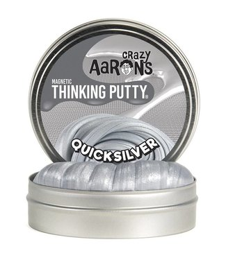"Crazy Aaron Thinking Putty - 4"" Quicksilver"