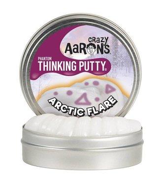 """Crazy Aaron Thinking Putty - 4"""" Arctic Flare"""