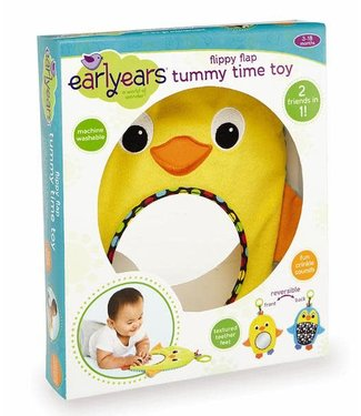 Earlyears Flippy Flap Tummy Time Toy
