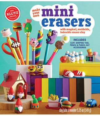 Klutz Make Your Own Mini Erasers
