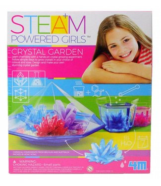 4M STEAM Powered Girls Crystal Garden