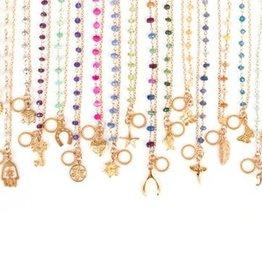Charm Bracelet - Citrine/Sun