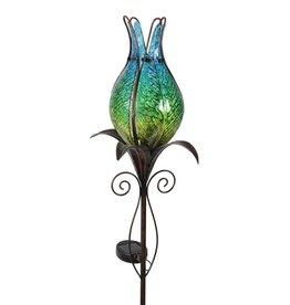 Solar Flower Bud G/S Blue