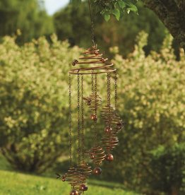 Mobile - Bee Spiral with Bells