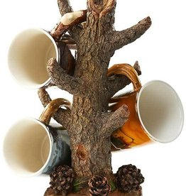 Sculpted Tree Branch Coffee Mug Holder