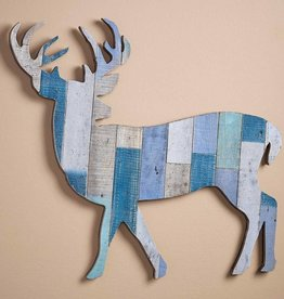 Wood Slat Wall Decor - Deer