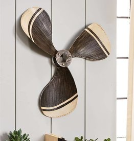 Metal Boat Propeller Wall Decor